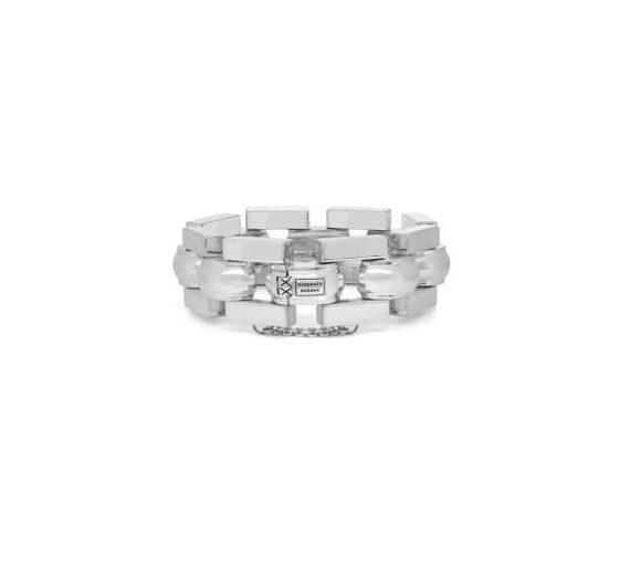 Buddha to Buddha Batul armband dames heren 925 sterling zilver Farfalla Rotterdam