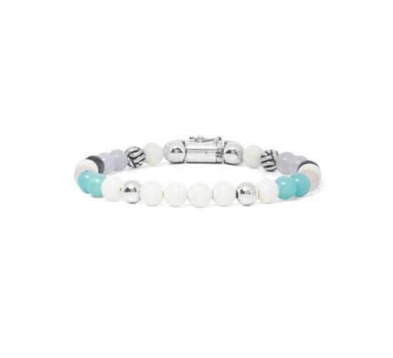 Buddha to Buddha armband spirit bead mini mix dames 925 sterling zilver Farfalla Rotterdam