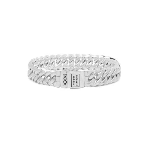 Buddha to Buddha armband Chain XS dames en heren 925 sterling zilver collectie Farfalla Rotterdam