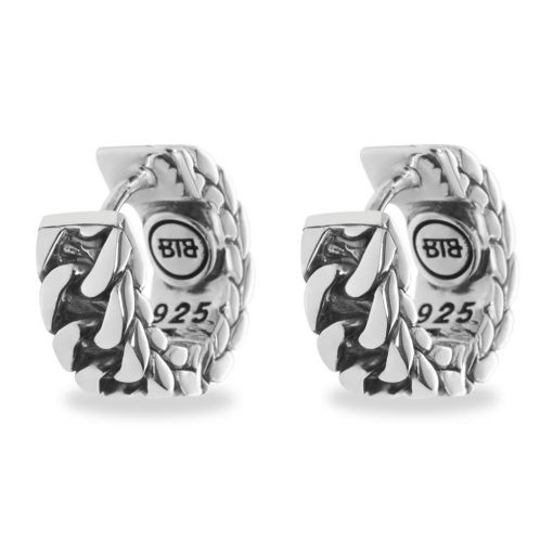 Buddha to Buddha oorbellen Esther small dames 925 sterling zilver Farfalla Rotterdam