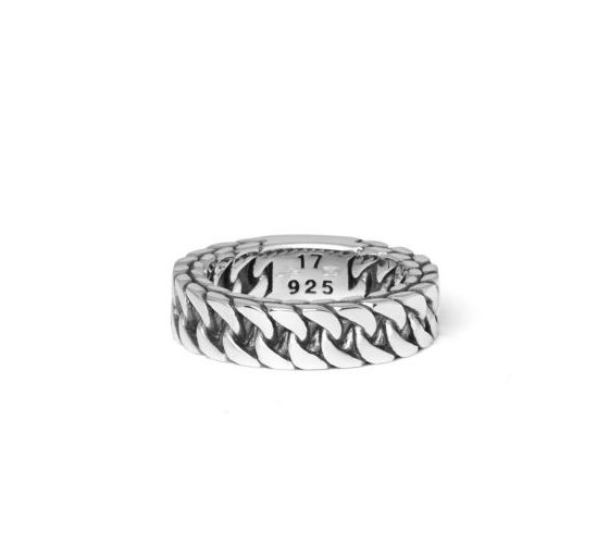 Buddha to Buddha ring Esther small dames en heren 925 sterling zilver Farfalla Rotterdam