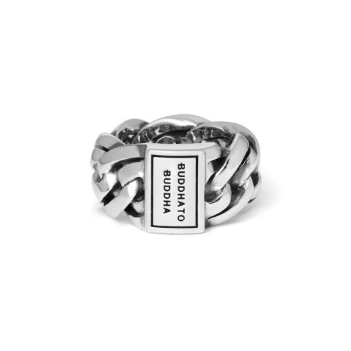 Buddha to Buddha ring Nathalie dames en heren 925 sterling zilver Farfalla Rotterdam