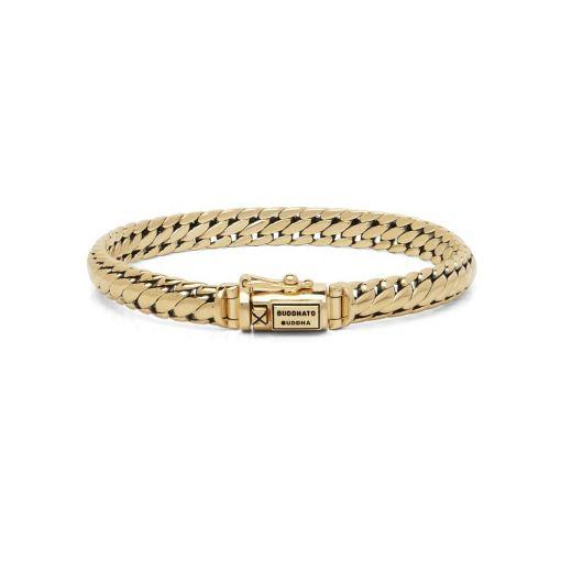 Buddha to Buddha armband Ben goud dames heren gold collection Farfalla Rotterdam