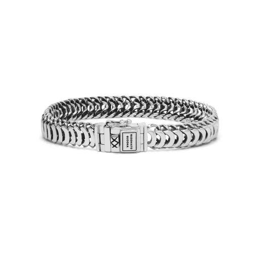 Buddha to Buddha armband Lars XS dames 925 sterling zilver Farfalla Rotterdam