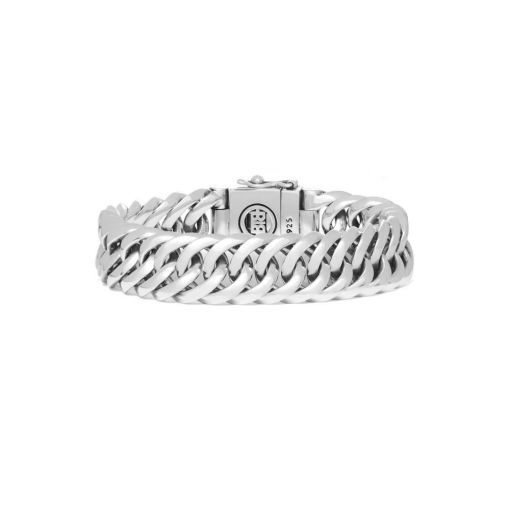 Buddha to Buddha armband Chain small dames en heren 925 sterling zilver collectie Farfalla Rotterdam