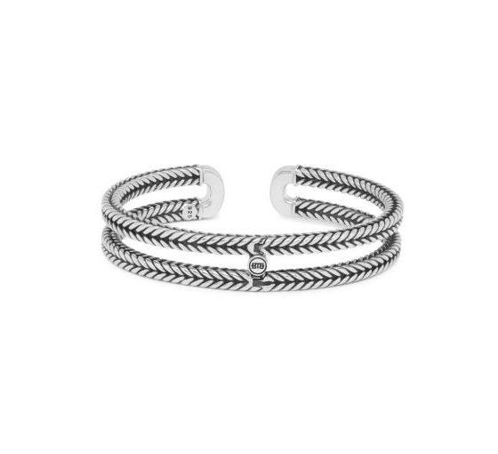 Buddha to Buddha armband Barbara Link Cuff dames 925 sterling silver Farfalla Rotterdam