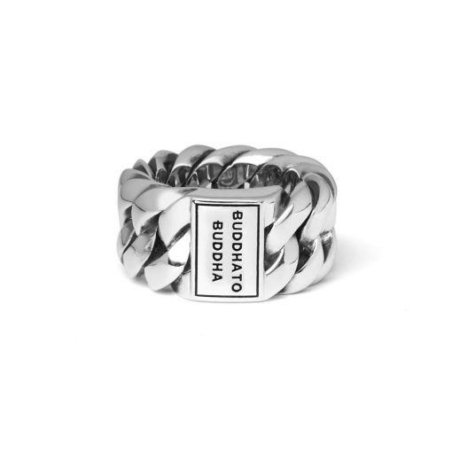 Buddha to Buddha Chain ring dames en heren 925 sterling zilver Farfalla Rotterdam