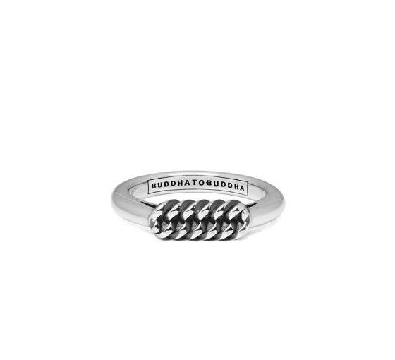 Buddha to Buddha ring Refined Chain dames 925 sterling zilver Farfalla Rotterdam
