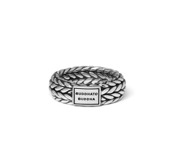 Buddha to Buddha Ellen ring dames en heren 925 sterling zilver Farfalla Rotterdam