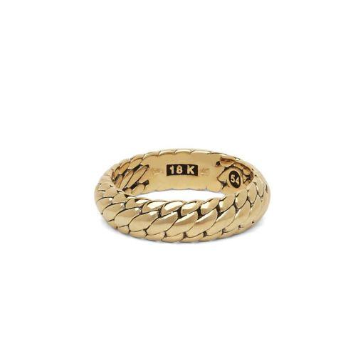 Buddha to Buddha ring Ben goud dames heren gold collection Farfalla Rotterdam