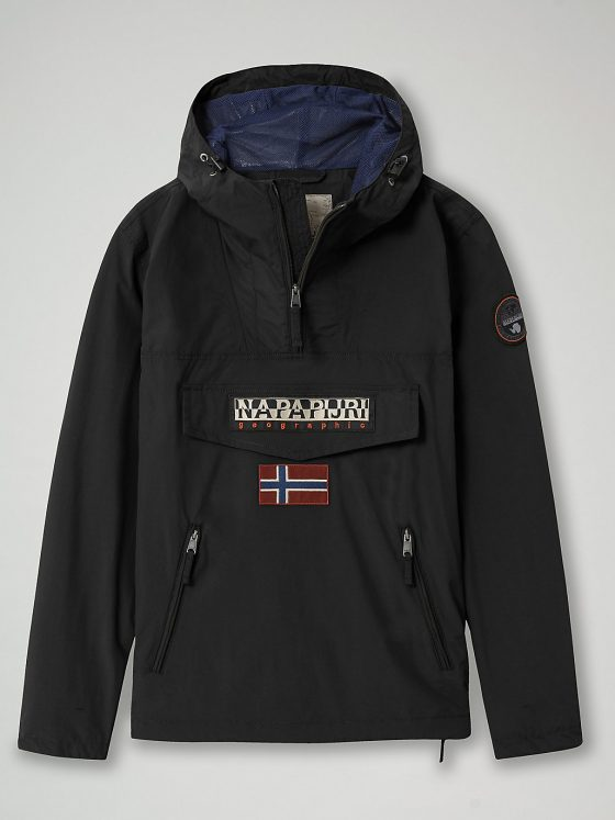 Napapijri Rainforest pocket jas heren black Farfalla Rotterdam