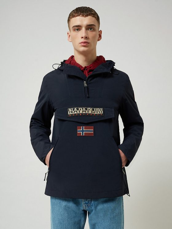Napapijri Rainforest pocket jas heren dark blue Farfalla Rotterdam