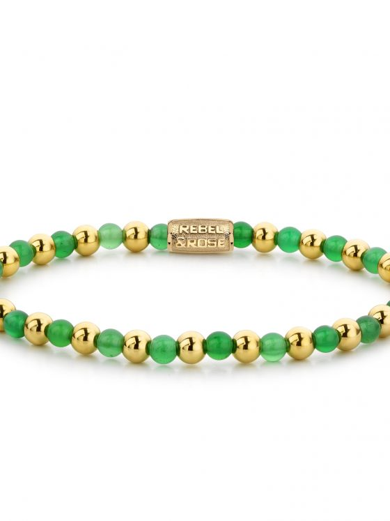 rebel and Rose armband more balls than most Mix green harmony dames farfalla rotterdam