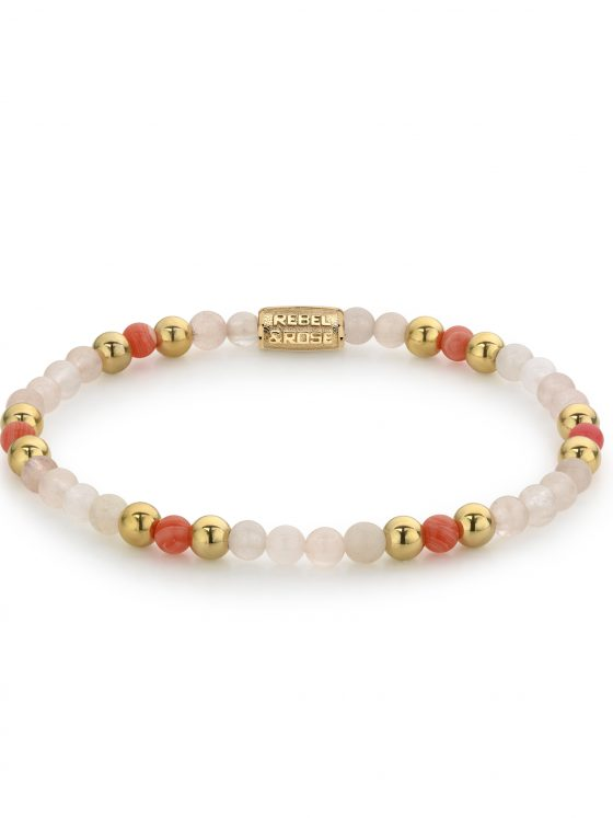 Rebel and Rose armband More Balls Than Most Roses and Cherry Blossom 4mm Dames Farfalla Rotterdam
