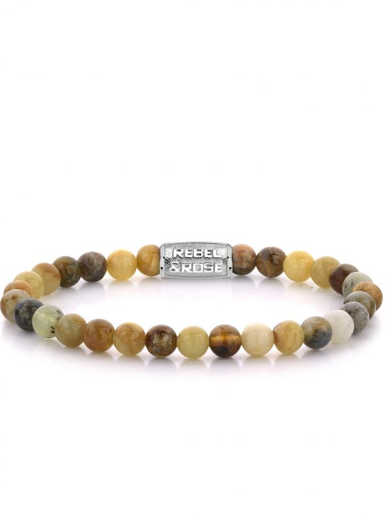 Rebel and Rose armband Stones Only Forest Morning 6mm Dames Farfalla Rotterdam