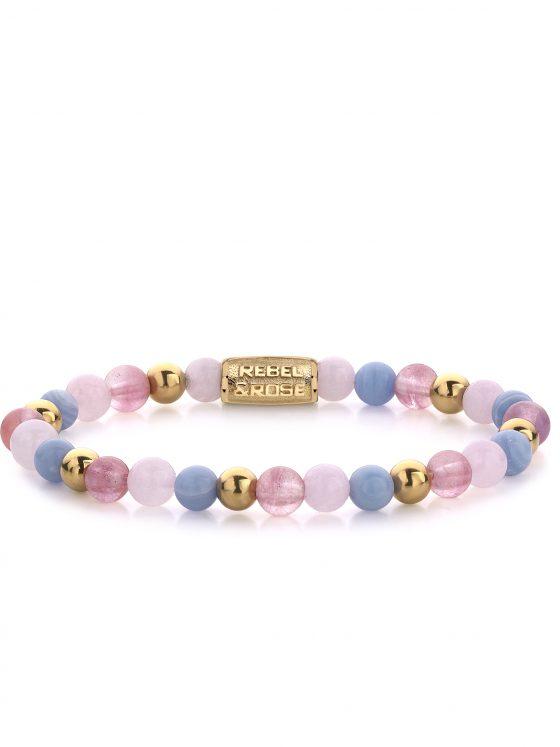 Rebel and Rose armband More Balls Than Most Pink Summer Vibes II 6mm Dames Farfalla Rotterdam