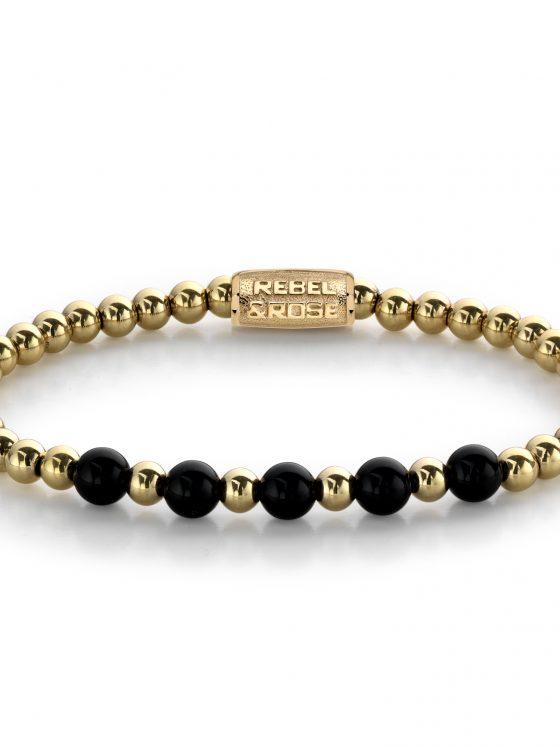 Rebel and Rose armband More Balls Than Most Yellow Gold meets Black Madonna Dames Farfalla Rotterdam