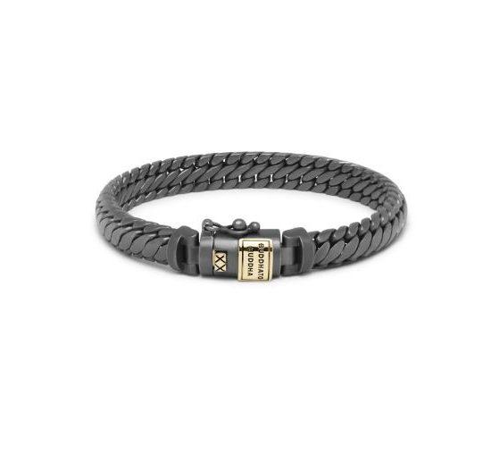Buddha to Buddha armband Ben XS Black Rhodium Gold Matt dames heren 925 sterling zilver collectie Farfalla Rotterdam