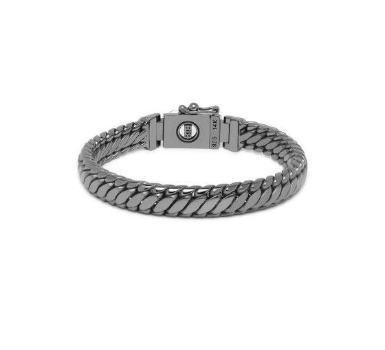 Buddha to Buddha armband Ben XS Black Rhodium Shine Gold dames en heren 925 sterling zilver Farfalla Rotterdam