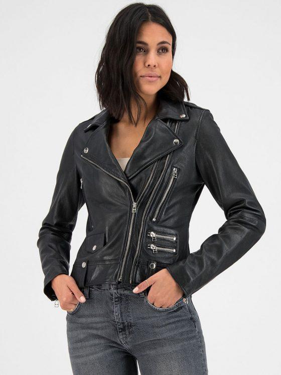 Goosecraft lovemaker biker sheep danta leer black dames Farfalla Rotterdam