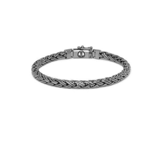 Buddha to Buddha armband Katja XS Black Rhodium Shine Gold dames en heren 925 sterling zilver Farfalla Rotterdam