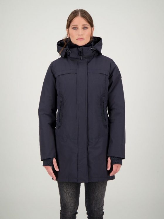 Airforce Tailor Made parka blauw dames wintercollectie Farfalla Rotterdam