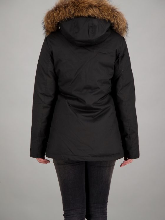 Airforce 4 pocket HB RF parka zwart dames wintercollectie Farfalla Rotterdam