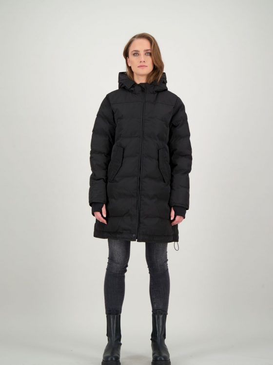 Airforce Jade jacket zwart dames wintercollectie Farfalla Rotterdam